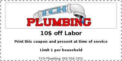 TCH Plumbing Coupon - 10$ off Labor